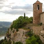 Santa Maria church in the hilltop village of Siurana, Priorat. Romanesque church built 12th-13th AD.