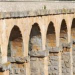 Pont del Diable (Devil's Bridge). Roman aqueduct outside of Tarragona, Catalonia