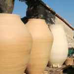 Amphoras for wine production by Penedès ceramicist Carles Llarch