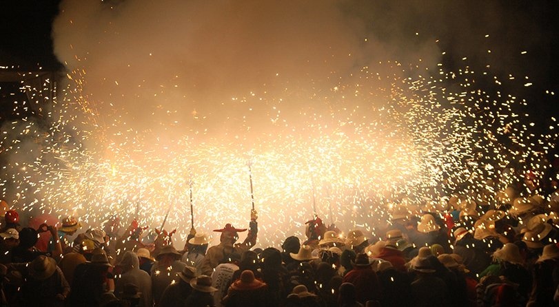 Festa Major Vilanova correfoc fireworks