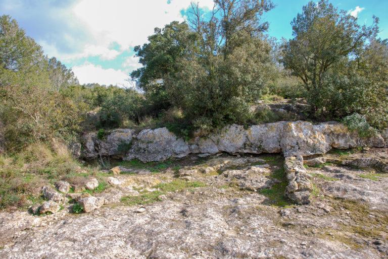 Iberian Iron Age house foundation (3rd-2nd century BC), Olèrdola monumental complex