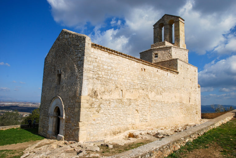 Sant Miquel Romanesque Church (10th-12th century), Olèrdola monumental complex