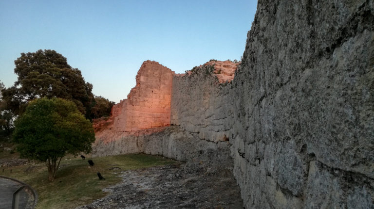 Roman wall (1st century BC), Olèrdola monumental complex