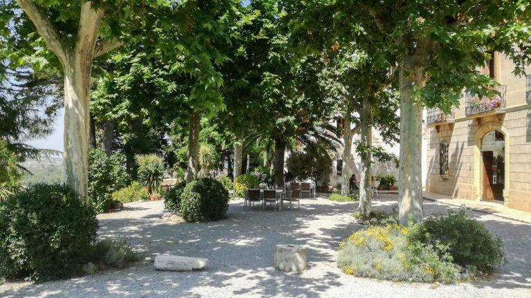 Albet i Noya winery terrace, Penedès