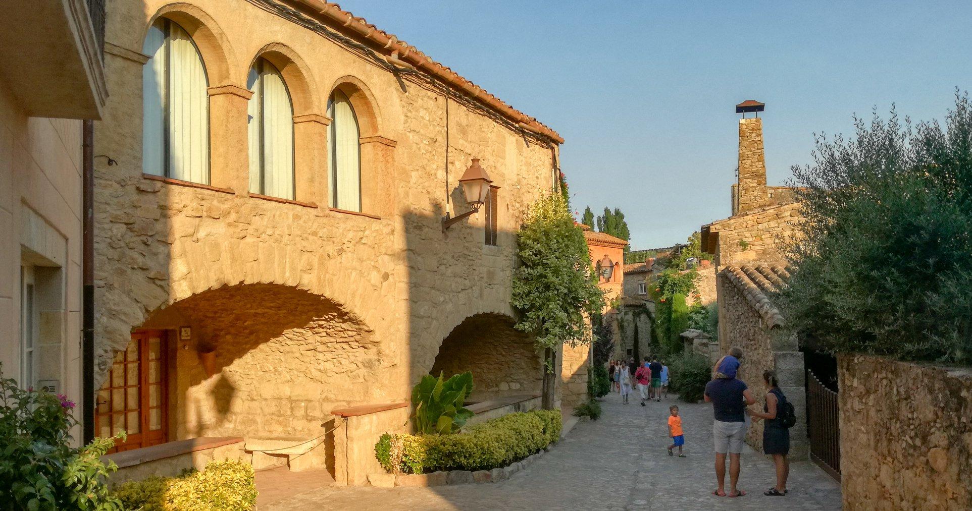 Peratallada medieval vilage