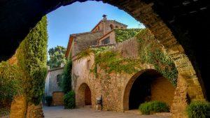 Monells medieval archways, Baix Empordà