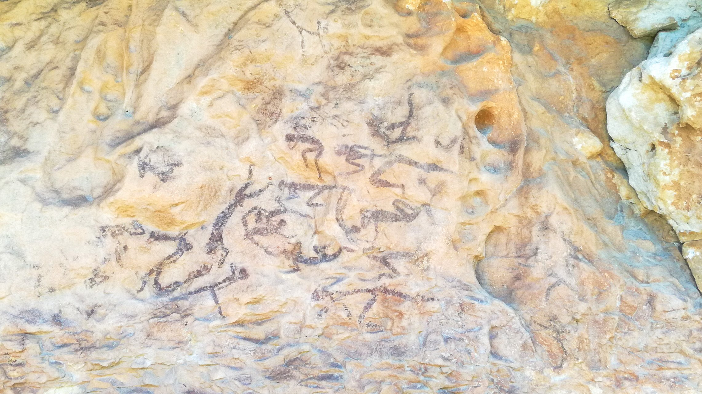 Barranc de la Vall II. UNESCO Prehistoric rock art site, Priorat