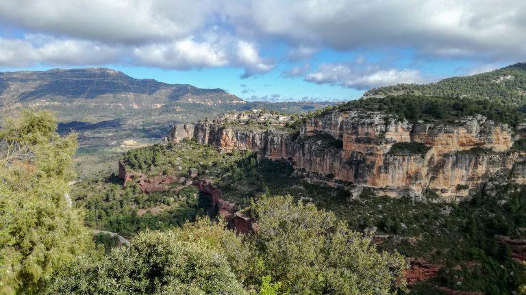 Siurana Coll de la Vaca Priorat Hike trail