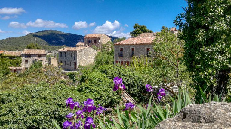Hilltop village of Siurana in the Priorat wine region private wine tour