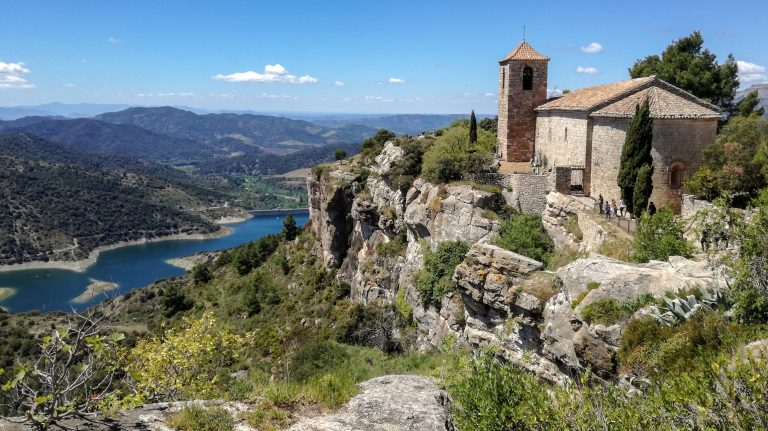 Església de Santa Maria de Siurana, clifftop church overlooking Priorat wine country