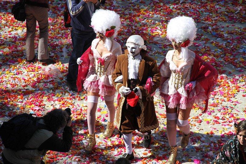 El rei Carnestoltes, també a la Comparsa. King of the Carnival and the Comparsa, Vilanova i la Geltrú