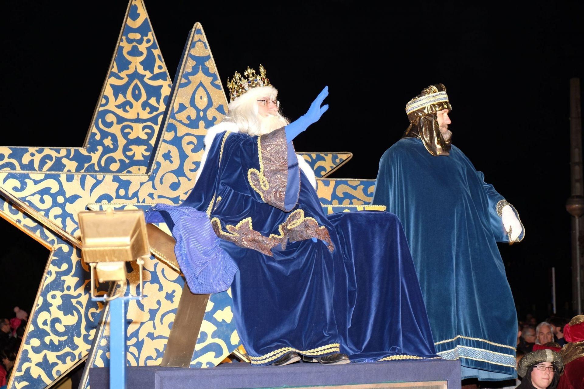 La Cavalcada de Reis. The Three Kings parade