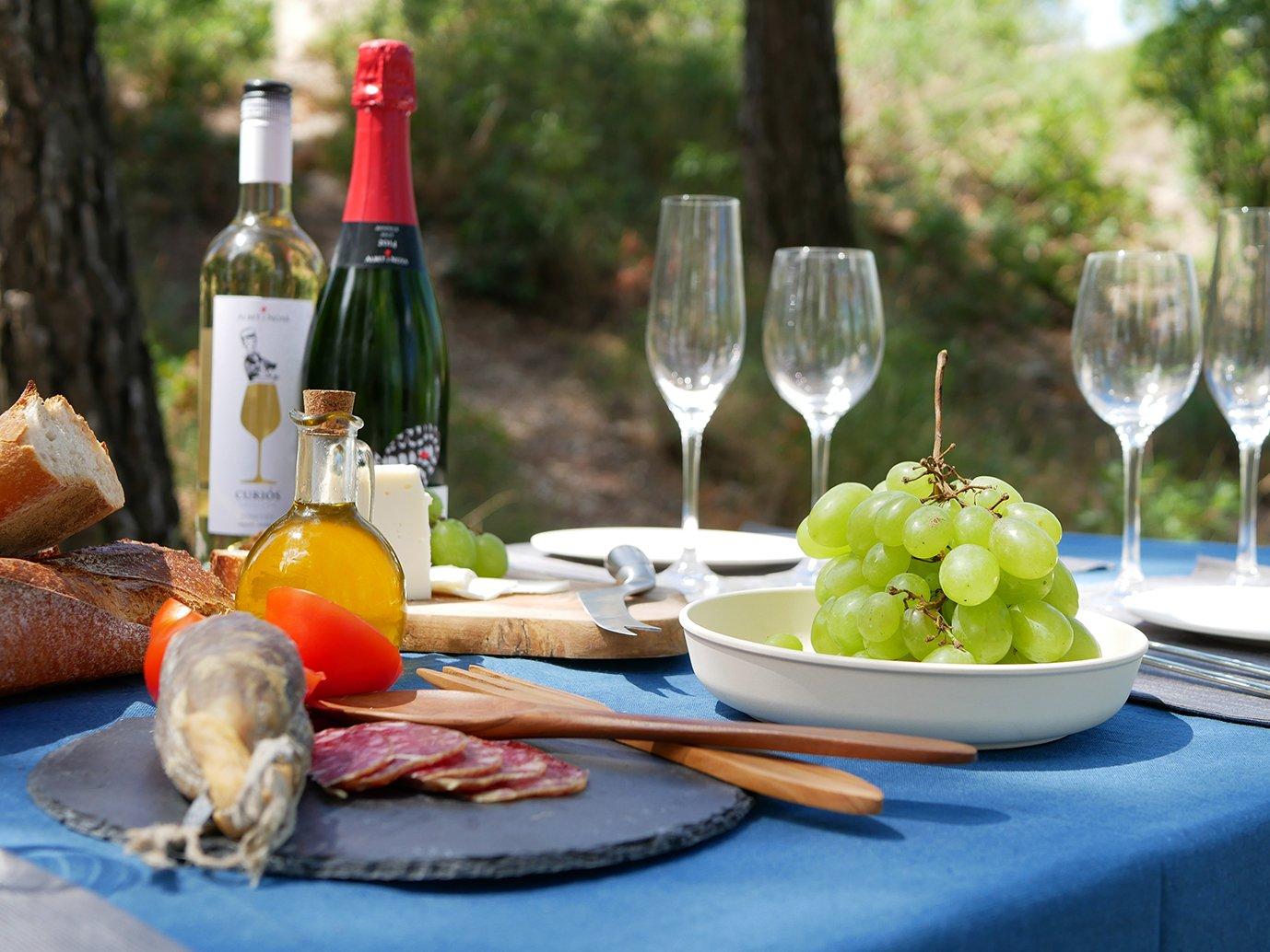 Penedès gourmet picnic Catalonia