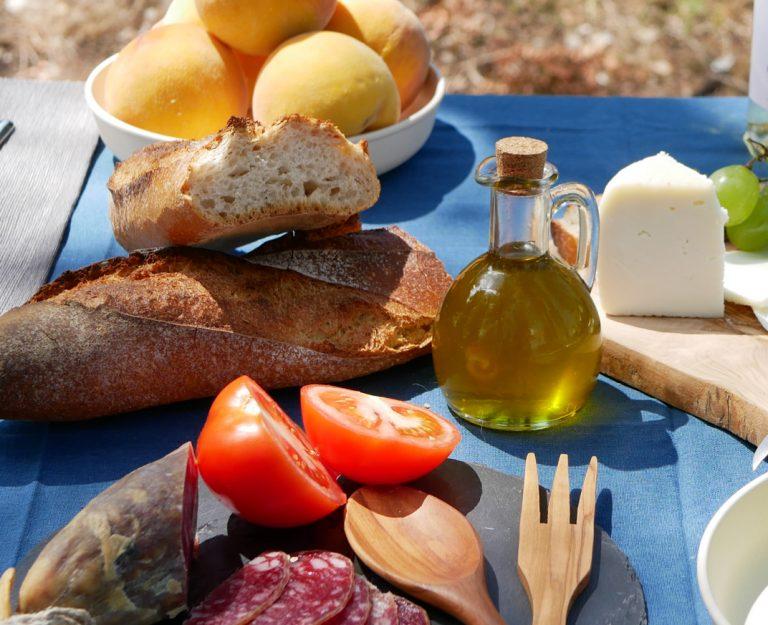 Gourmet picnic Rupit, Spain